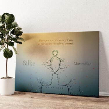 Personalisiertes Leinwandbild Eternity Wandbild personalisiert