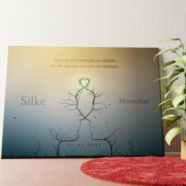 Personalisiertes Leinwandbild Personalisiertes Wandbild Eternity