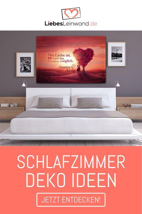 Schlafzimmer Dekorieren So Wird Es Gemutlich Liebesleinwand De Blog