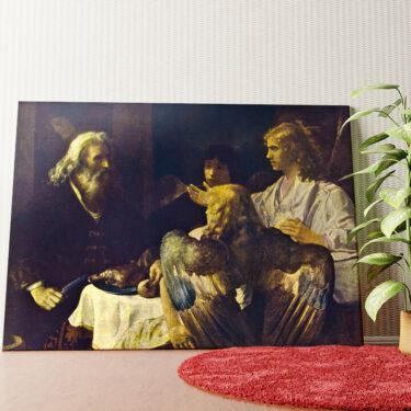 Personalisiertes Wandbild Abraham und die drei Engel