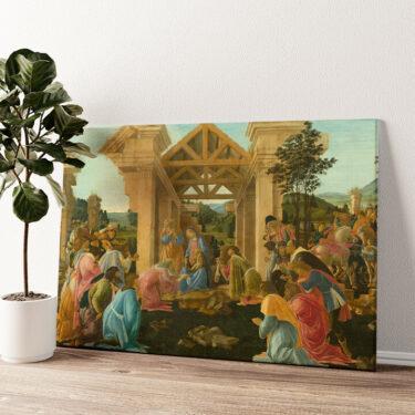 Anbetung der Heiligen drei Könige Wandbild personalisiert