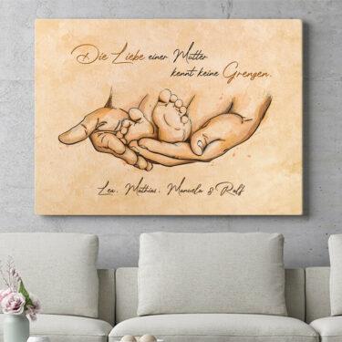 Personalisierbares Geschenk Beschützende Liebe