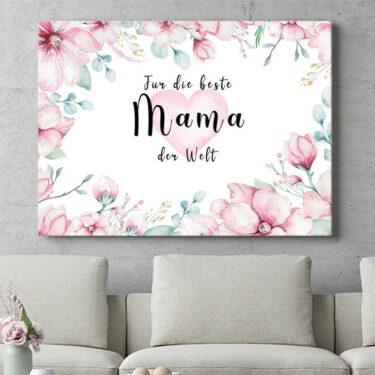 Personalisierbares Geschenk Beste Mama