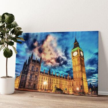 Big Ben London Wandbild personalisiert
