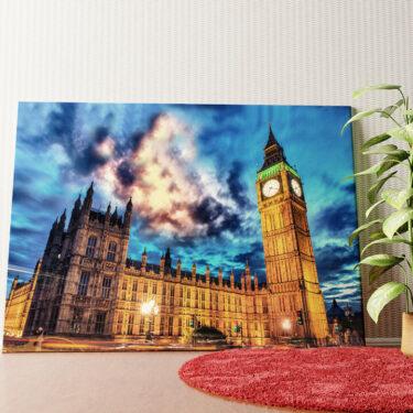 Personalisiertes Wandbild Big Ben London