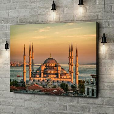 Leinwandbild personalisiert Blaue Moschee Istanbul
