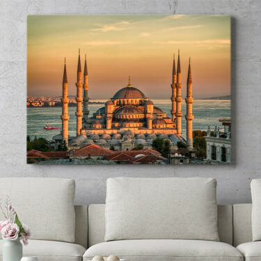 Personalisierbares Geschenk Blaue Moschee Istanbul