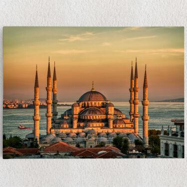 Personalisiertes Leinwandbild Blaue Moschee Istanbul