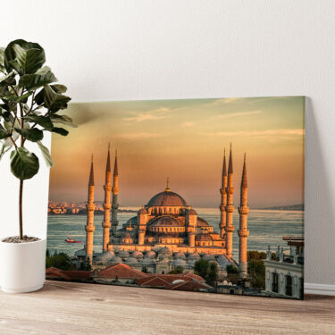 Blaue Moschee Istanbul Wandbild personalisiert