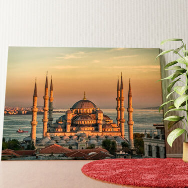 Personalisiertes Wandbild Blaue Moschee Istanbul