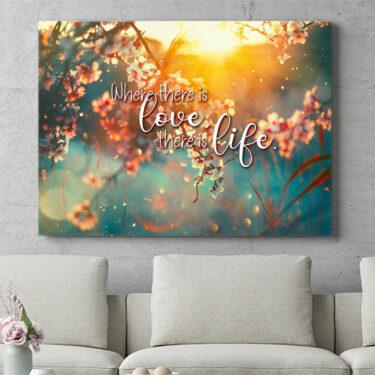Personalisierbares Geschenk Blühende Liebe