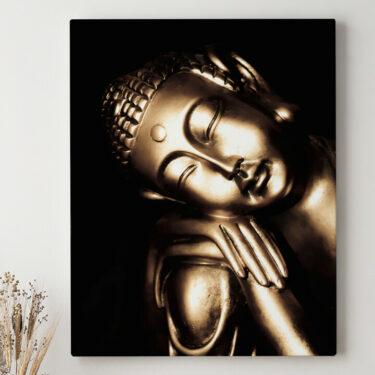 Leinwandbild personalisiert Buddha