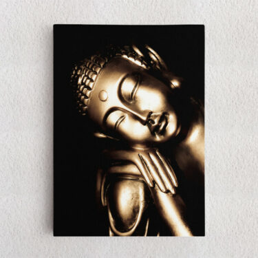 Personalisiertes Leinwandbild Buddha