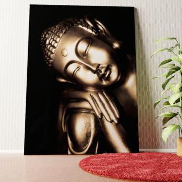 Personalisiertes Wandbild Buddha