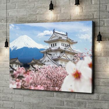 Leinwandbild personalisiert Burg Himeji Japan