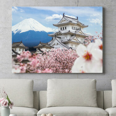 Personalisierbares Geschenk Burg Himeji Japan