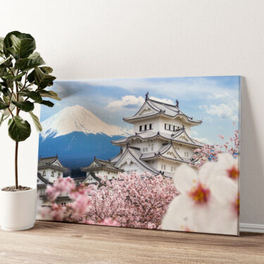 Burg Himeji Japan Wandbild personalisiert