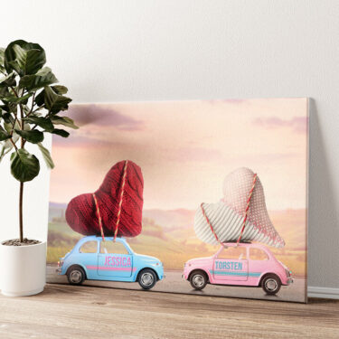 Carmour Wandbild personalisiert