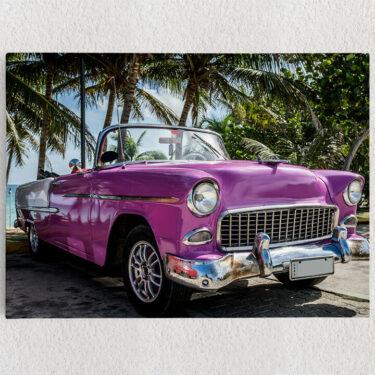 Personalisiertes Leinwandbild Chevrolet Oldtimer