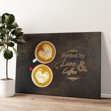 Coffee Wandbild personalisiert