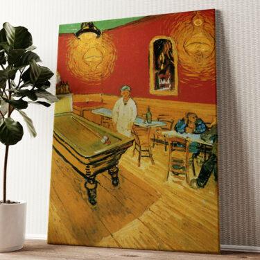 Das Nachtcafé Wandbild personalisiert