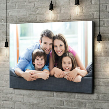 Leinwandbild personalisiert Dein Foto auf Leinwand