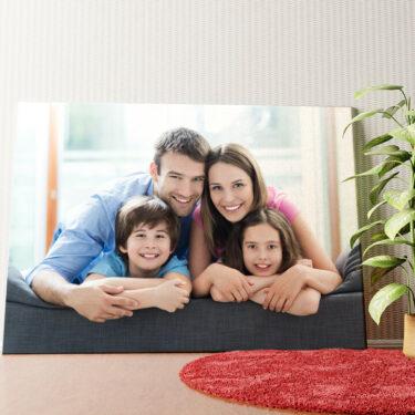 Personalisiertes Wandbild Dein Foto auf Leinwand