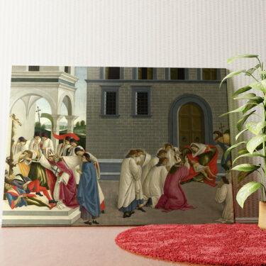 Personalisiertes Wandbild Die drei Wunder des heiligen Zenobius