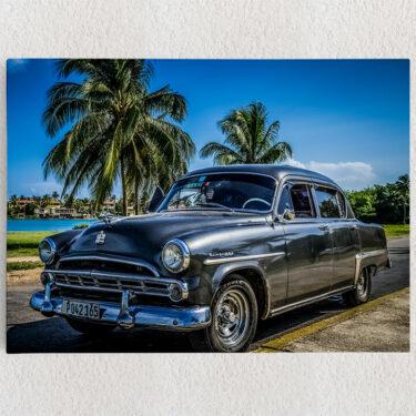 Personalisiertes Leinwandbild Dodge Oldtimer