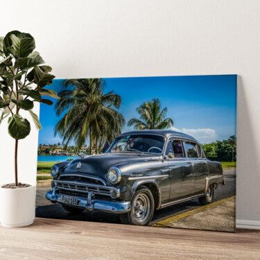 Dodge Oldtimer Wandbild personalisiert