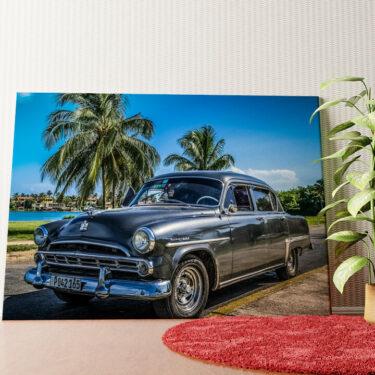 Personalisiertes Wandbild Dodge Oldtimer