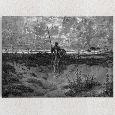 Personalisiertes Leinwandbild Don Quijote