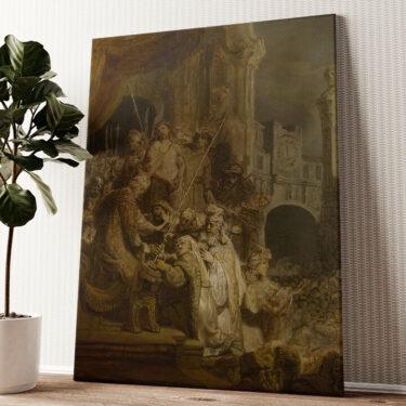 Ecce Homo Wandbild personalisiert