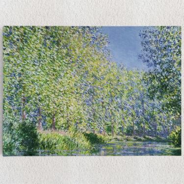 Personalisiertes Leinwandbild Eine Biegung der Epte bei Giverny