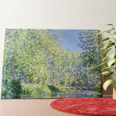 Personalisiertes Wandbild Eine Biegung der Epte bei Giverny