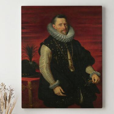 Leinwandbild personalisiert Erzherzog Albrecht VII.