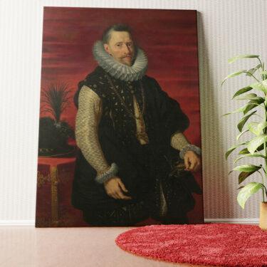 Personalisiertes Wandbild Erzherzog Albrecht VII.