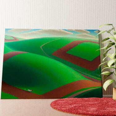 Personalisiertes Wandbild Frühlingserwachen