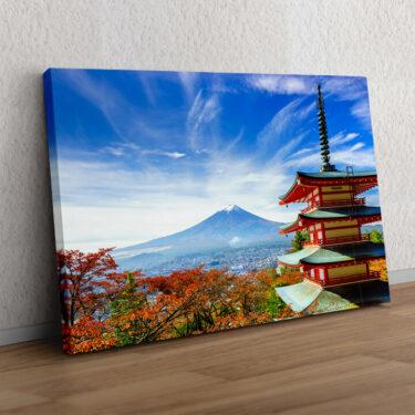 Fujiyoshida Pagode Japan