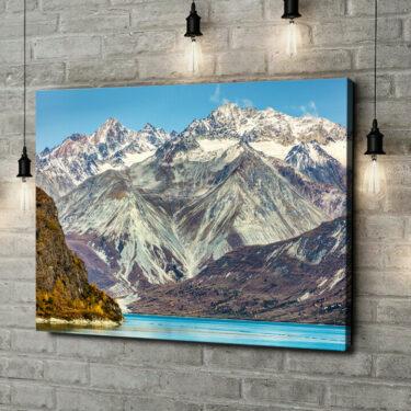 Leinwandbild personalisiert Glacier Bay National Park Alaska