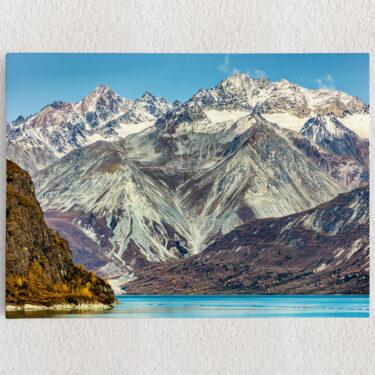 Personalisiertes Leinwandbild Glacier Bay National Park Alaska