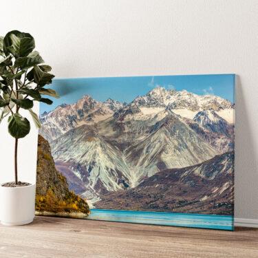 Glacier Bay National Park Alaska Wandbild personalisiert