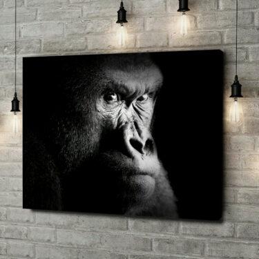 Leinwandbild personalisiert Gorilla