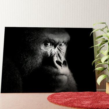 Personalisiertes Wandbild Gorilla