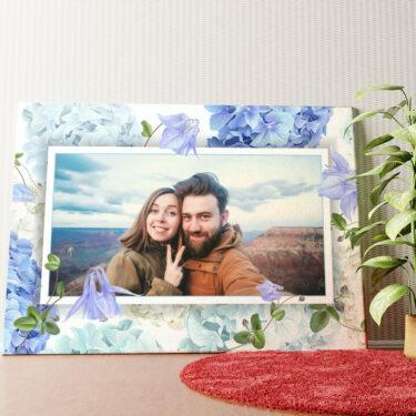 Personalisiertes Wandbild Hintergrund: Blütentraum