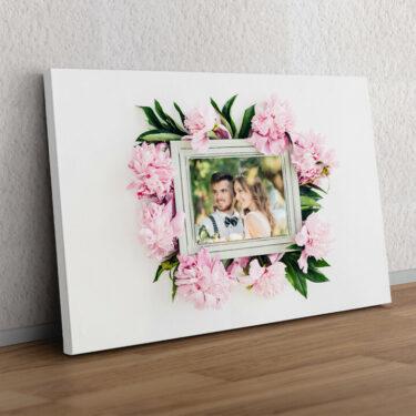 Hintergrund: Blumenschmuck