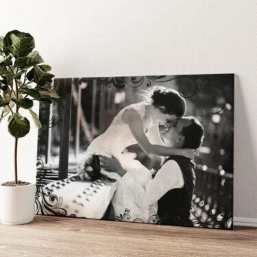 Hintergrund: Eleganz Wandbild personalisiert