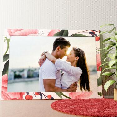 Personalisiertes Wandbild Hintergrund: Flora