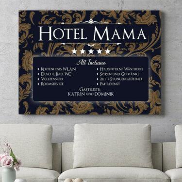 Personalisierbares Geschenk Hotel Mama