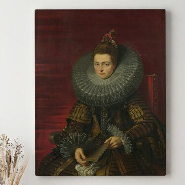Leinwandbild personalisiert Isabella